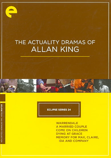ECLIPSE 24:ACTUALITY DRAMA/ALLAN KING BY ECLIPSE (DVD)